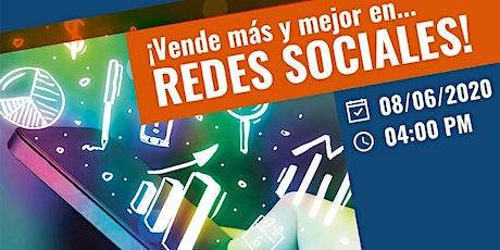 Vender Mas y Mejor en redes sociales!!! entradas