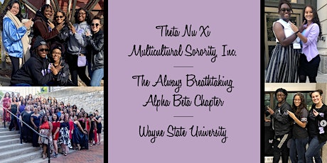 Theta Nu Xi, Alpha Beta Chapter Interest Meeting tickets