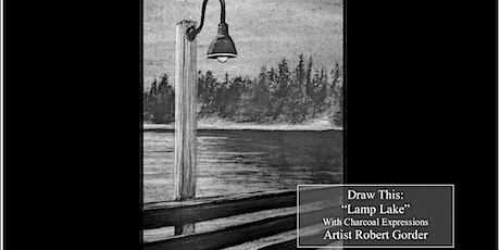 Virtual Charcoal Drawing Event - Lamp Lake tickets