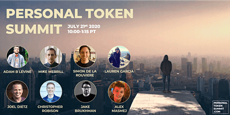 Personal Token Virtual Summit tickets