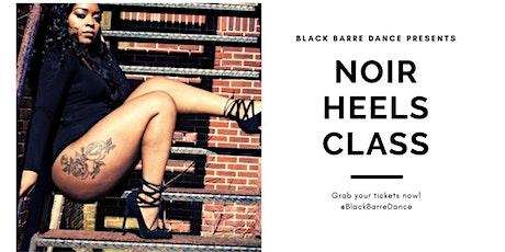 Black Barre Dance Heels Class tickets