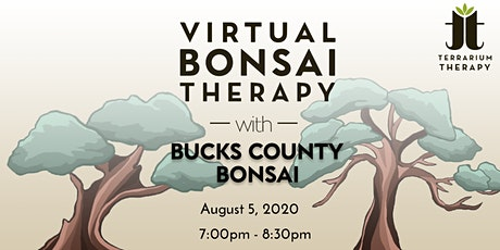 Virtual Workshop - Bonsai Therapy with Root Down Brewing Company tickets