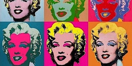 Warhol's Marilyn Painting Workshop (BYOB) tickets