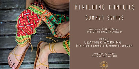 Leather Working Day Camp for Kids & Families tickets