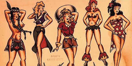 Sailor Jerry Pin Up Painting Workshop (BYOB) tickets