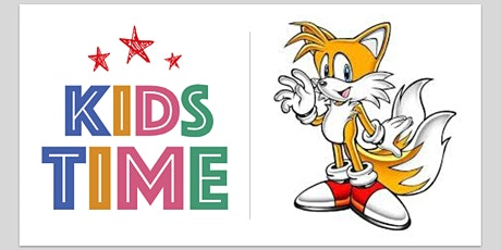 Kids Time :: Young Art Class - How to draw tails from Sonic tickets