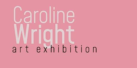 """Art Show in Greenville SC """"Caroline Wright Art Exhibition"""" Barnett Gallery tickets"""