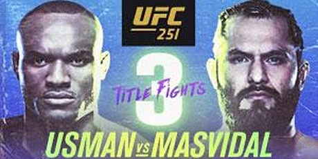 MMA@!!..@UFC 251: Masvidal V Usman LIVE tickets