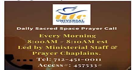 Daily Sacred Space Prayer Call tickets