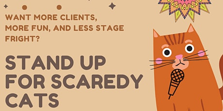 Stand Up for Scaredy Cats Tickets