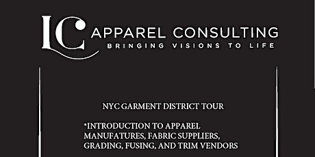 NYC GARMENT DISTRICT TOUR - August tickets
