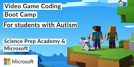 Microsoft Video Game Basics: Online Camp for Neurodiverse Students tickets