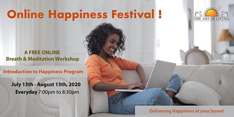 Online Happiness Festival tickets