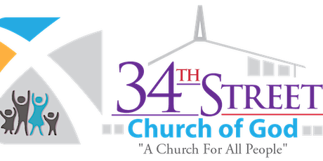 Copy of 34th Street Church of God Worship Services tickets