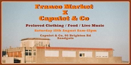 Franco Markets tickets