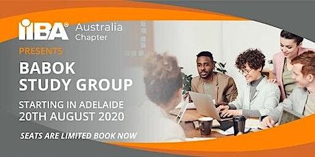 IIBA Australia: Adelaide BABOK® Study Group August 2020 tickets