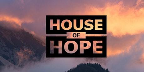 Dienst House of Hope: 19 juli 2020 met gastspreker Peter Grim tickets
