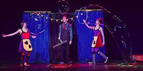 Por Aki por Allá  Show circense online y taller de burbujas boletos