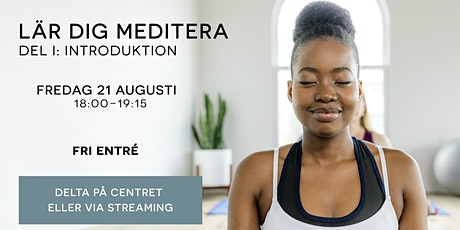 Lär dig meditera tickets