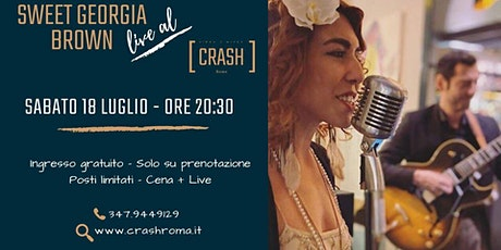 Jazz Do It // Sweet Georgia Brown live al Crash Roma biglietti