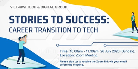 Stories to success: Career transition to Tech tickets
