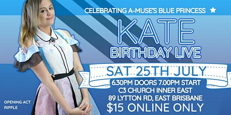 [[RESCHEDULED]] [A-MUSE] Kate Birthday Live tickets