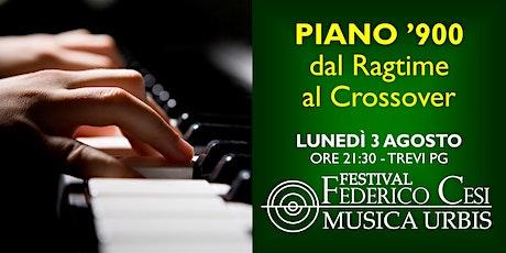 Piano '900: dal Ragtime al Crossover biglietti