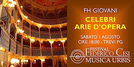 Celebri Arie d'Opera biglietti