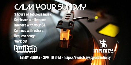 Calm Your Sunday - R&B, Soul, Funk, Hip-Hop, Reggae Anthems tickets