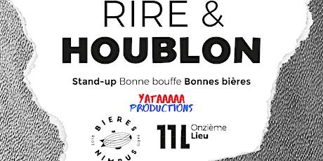 Rire & Houblon billets