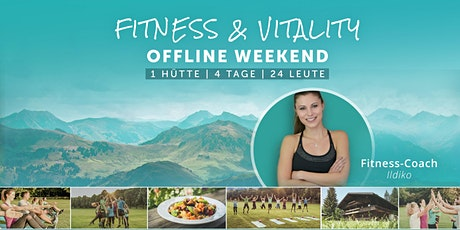 Fitness & Vitality Weekend Tickets
