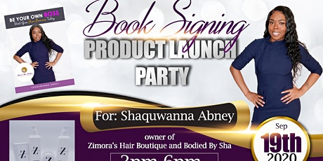 Book Signing/Product Launch tickets