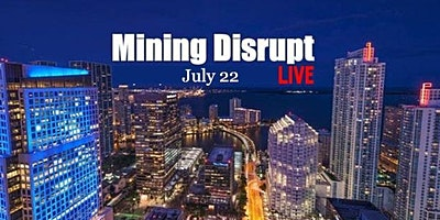 Mining Disrupt Conference LIVE   Bitcoin Blockchain Cryptocurrency Mining