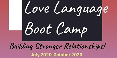 Copy of RHEMA CHRISTIAN CENTER CHURCH:  Love Language Boot Camp 2020 tickets