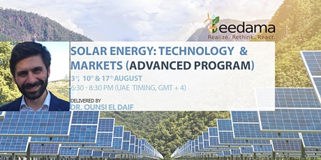 Solar Energy - Technology And Markets - Advanced Program tickets