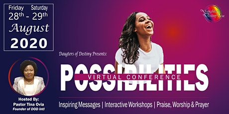 Daughters of Destiny 2020 - Possibilities Virtual Conference tickets