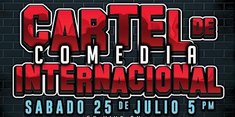COMEDIA VIRTUAL: Cartel de Comedia Internacional : Sab. 25 de Julio 5 pm boletos