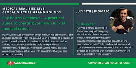 Global Virtual Grand Rounds: Creating Your Own Luck at Medical School tickets