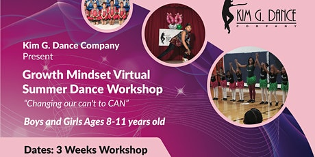 Kim G. Virtual Dance  Workshop for Ages 7-12 years old tickets