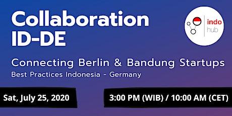 IndoHub Webinar - Collaboration ID-DE Tickets
