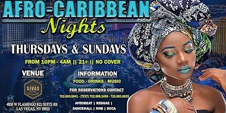 AfroBeat Reggae Thursdays & Sundays @SIVAS tickets