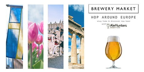 Hop around Europe - a virtual guided beer tasting. tickets