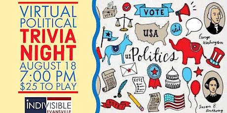 Virtual Political Trivia Night tickets
