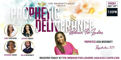 Prophetic & Deliverance Webinar for Leaders tickets