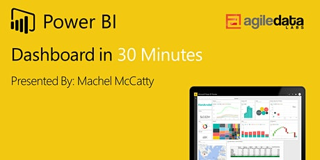 Power BI Dashboard in 30 Minutes ingressos