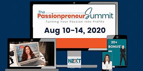 [FREE] Virtual Passionpreneur Summit tickets