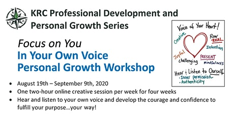 In Your Own Voice Personal Growth Workshop tickets