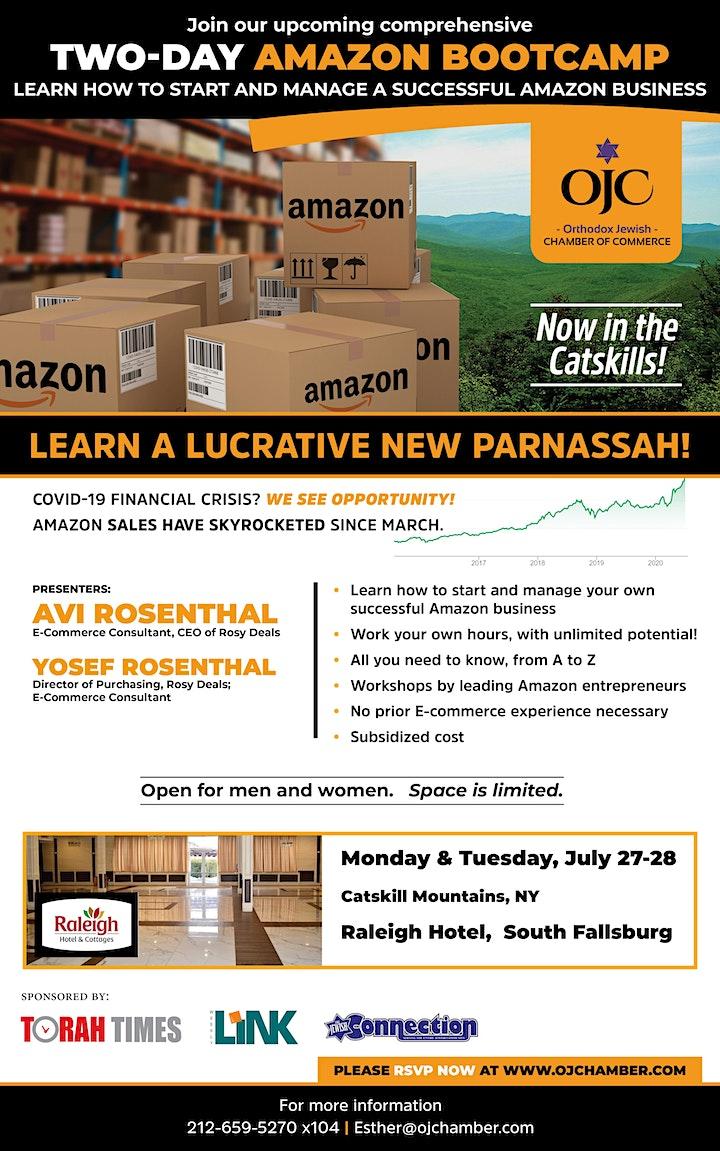 Sell on Amazon!  2 Day Boot-camp Training, Catskills NY image