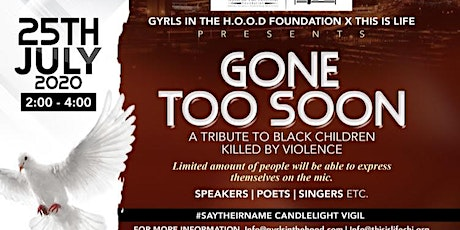 Gone Too Soon- A Community Tribute & Candlelight Vigil tickets