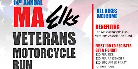 Mass Elks Veterans Motorcycle Run - Billerica tickets